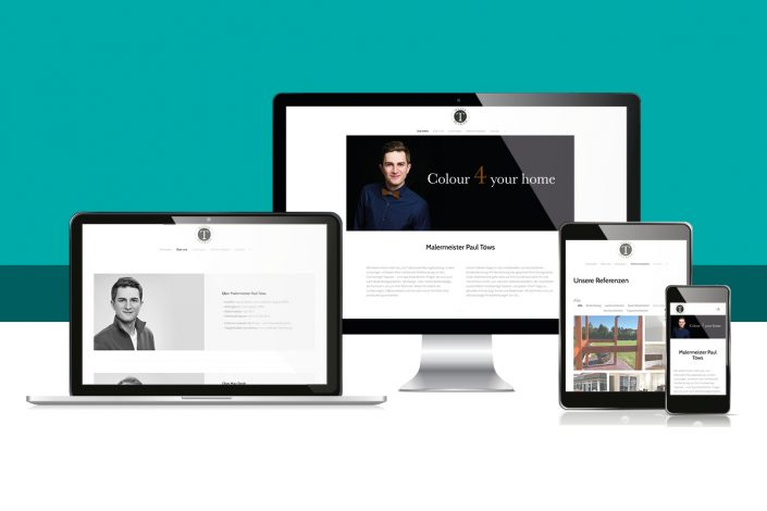 Webseite Maler Töws