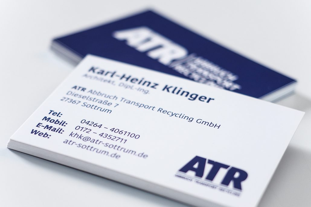 Atr Abruch Transport Recycling Visual Candy Werbeagentur